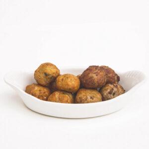 Mixed meatballs